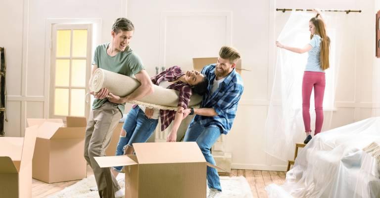 Verhuizen met vrienden
